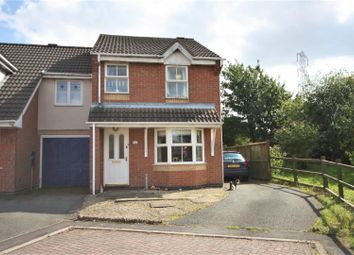 Thumbnail 3 bedroom semi-detached house for sale in Lawrence Close, Ellistown, Coalville