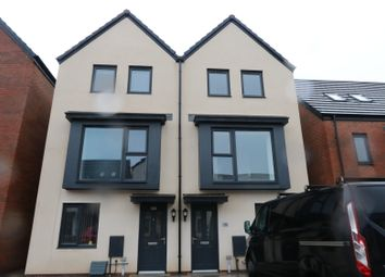 Thumbnail 3 bedroom town house to rent in Ffordd Penrhyn, Barry Waterfront