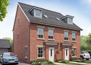 "Thumbnail 4 bedroom semi-detached house for sale in ""Rochester"" at Rykneld Road, Littleover, Derby"