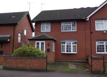 Thumbnail 3 bed semi-detached house for sale in Hallam Crescent East, Braunstone, Leicester, Leicestershire
