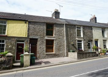 Thumbnail 2 bed terraced house for sale in Cross Inn Road, Pontyclun
