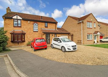 Thumbnail 4 bed detached house for sale in Woodcroft Close, Market Deeping