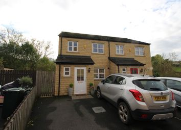 Thumbnail 3 bed semi-detached house for sale in Clough Fold, Keighley