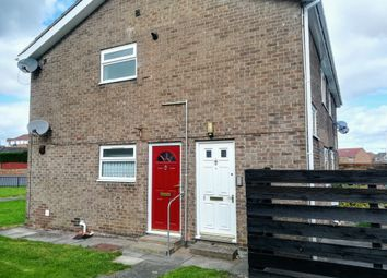 Thumbnail 1 bed flat to rent in Dorset Close, Ashington
