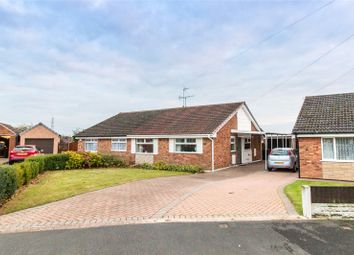 Thumbnail 2 bed semi-detached bungalow for sale in Ladycroft Road, Armthorpe, Doncaster