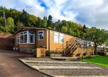 Thumbnail 2 bed mobile/park home for sale in Wyeside Caravan Park, Bishopswood, Ross-On-Wye, Herefordshire