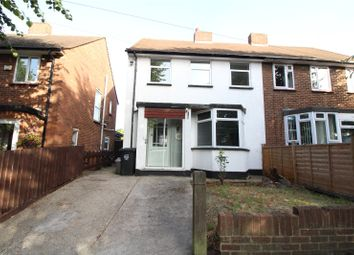 Thumbnail 3 bed semi-detached house to rent in Trebble Road, Swanscombe, Kent
