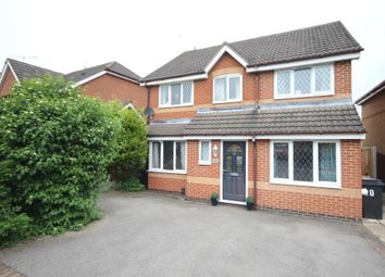 Thumbnail 4 bed detached house for sale in Turner Drive, Hinckley