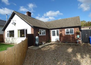 Thumbnail 3 bed bungalow for sale in Bardwell, Bury St Edmunds, Suffolk