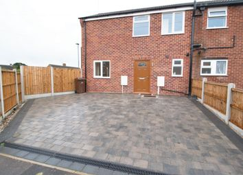 Thumbnail 3 bed semi-detached house to rent in Hartshorne Road, Littleover, Derby