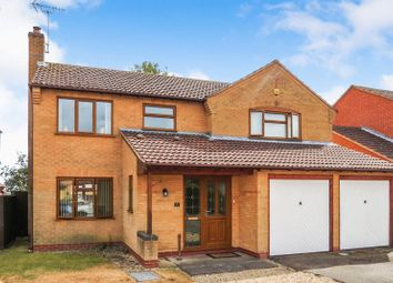 Thumbnail 4 bed detached house for sale in Headland Way, Haconby, Bourne