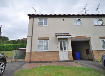 Thumbnail 2 bed semi-detached house to rent in Cottesmore Close, Stapenhill, Burton-On-Trent