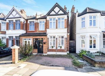 Thumbnail 3 bed semi-detached house for sale in Harpenden Road, London