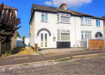Thumbnail 4 bed semi-detached house for sale in Mitchell Avenue, Gravesend