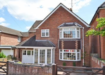 Thumbnail 4 bed detached house for sale in Rockingham Road, Newbury