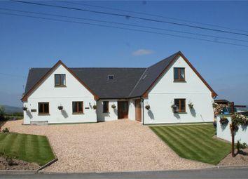 Thumbnail 5 bed detached house for sale in Golygfa'r Mynydd, Bancyffordd, Llandysul, Carmarthenshire