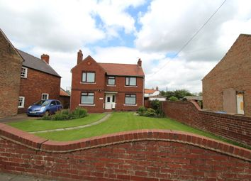 Thumbnail 4 bed detached house for sale in Asselby, Goole