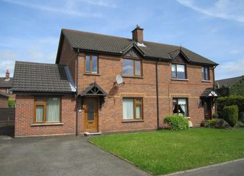 Thumbnail 4 bed semi-detached house to rent in Rosevale Meadows, Lisburn