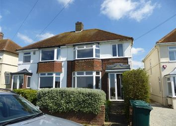 Thumbnail 3 bed property to rent in Hillview Road, Brighton