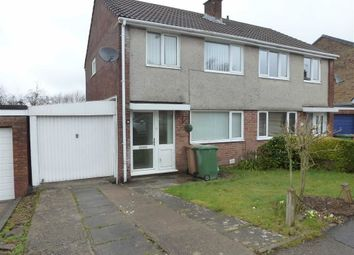 Thumbnail 3 bed semi-detached house to rent in Plas Grug, Caerphilly