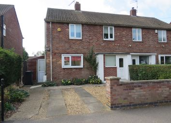 Thumbnail 2 bed semi-detached house for sale in Poplar Avenue, Dogsthorpe, Peterborough
