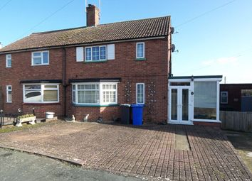 Thumbnail 3 bedroom semi-detached house for sale in Bedingfield Crescent, Halesworth