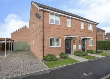 Thumbnail 2 bed semi-detached house for sale in Peatfield Court, Stapleford, Nottingham