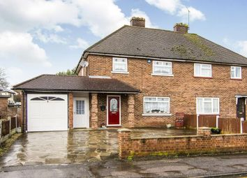 Thumbnail 3 bedroom semi-detached house for sale in Pilgrims Hatch, Brentwood, Essex