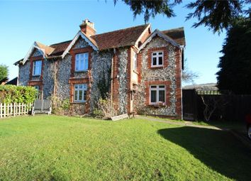 Thumbnail 5 bed semi-detached house for sale in Maxwell Cottages, Findon Road, Findon