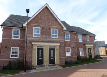 Thumbnail 3 bedroom terraced house for sale in Ross Close, Hempsted, Peterborough