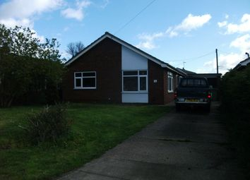 Thumbnail 2 bed detached bungalow to rent in Stow Road, Willingham By Stow, Gainsborough