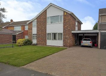 Thumbnail 3 bedroom link-detached house for sale in Paddock Close, Castle Donington, Derby