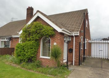 Thumbnail 3 bed semi-detached bungalow for sale in Laburnum Road, Ormesby, Middlesbrough