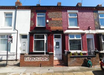 Thumbnail 2 bed terraced house to rent in Peveril Street, Walton, Liverpool