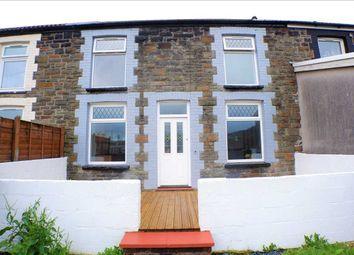 Thumbnail 3 bed terraced house for sale in Railway Terrace, Penygraig, Tonypandy