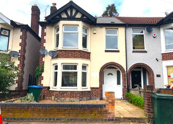 3 bed semi-detached house to rent in Sidderley Avenue, Coventry CV3