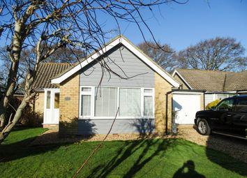 Thumbnail 2 bed bungalow for sale in Balliol Close, Bognor Regis