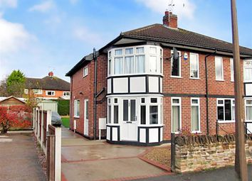 Thumbnail 3 bed semi-detached house to rent in Bramcote Avenue, Chilwell, Nottingham