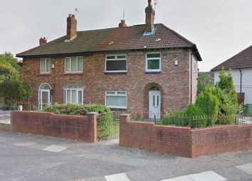 Thumbnail 3 bed semi-detached house for sale in Deverell Road, Wavertree, Liverpool