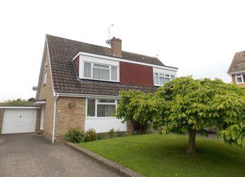 Thumbnail 3 bed semi-detached house to rent in Brooks Close, Staplehurst, Tonbridge