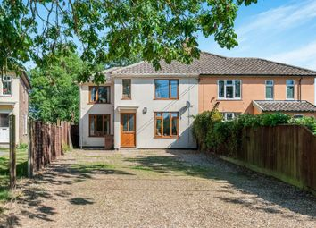 Thumbnail 3 bed semi-detached house for sale in The Crescent, Westhorpe, Stowmarket