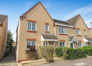 Thumbnail 3 bed end terrace house for sale in Brunel Drive, Biggleswade