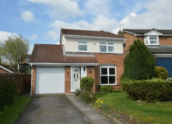Thumbnail 3 bed detached house for sale in Finchway, Narborough, Leicester
