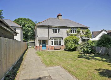 Thumbnail 3 bed semi-detached house for sale in Pound Lane, Burley, Ringwood