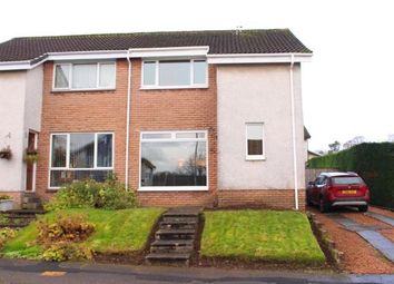 Thumbnail 3 bed semi-detached house for sale in Alwyn Avenue, Houston, Johnstone, Renfrewshire