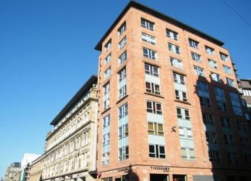 Thumbnail 1 bed flat to rent in Ingram Street, City Centre, Glasgow