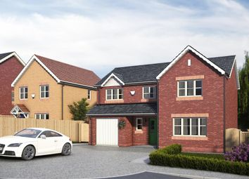 Thumbnail 4 bed detached house for sale in Pentrosfa, Llandrindod Wells