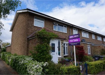 Thumbnail 3 bed end terrace house for sale in Temple Way, West Malling