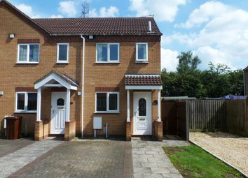 Thumbnail 2 bedroom end terrace house to rent in Sixfield Close, Lincoln