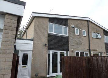 Thumbnail 3 bed semi-detached house for sale in Wycliffe Close, Newton Aycliffe